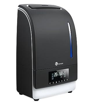 TaoTronics TT AH006 Warm and Cool Mist Taotronics Ultrasonic Humidifiers  for Bedroom with 6L. Amazon com  TaoTronics TT AH006 Warm and Cool Mist Taotronics