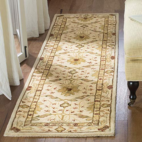 Safavieh Anatolia Collection AN540A Handmade Traditional Oriental Ivory Wool Runner (2'3