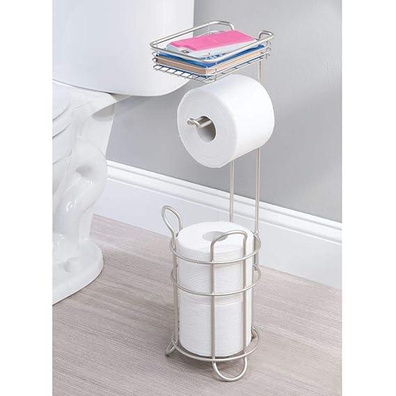 Amazon.com: mDesign - Soporte y dispensador de papel ...