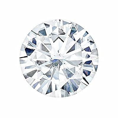 2.5 MM Round Brilliant Cut Forever One® Loose Moissanite by Charles & Colvard - Very Good Cut (0.05ct Actual Weight, 0.06ct Diamond Equivalent Weight)