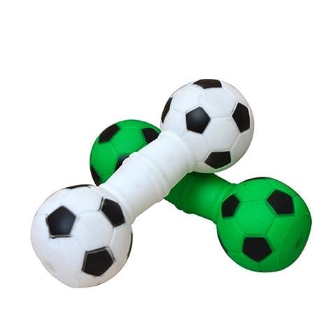 Da. WA 1 pcs creativo fútbol mancuernas diseño sonido juguete de ...