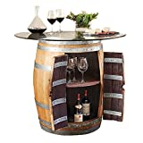 IWA Recycled Barrel Pub Table #17438