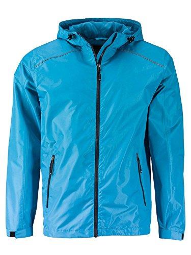 Giacca Turquoise Casual Jacket Pioggia iron Funzionale grey Da E Rain Men's 8Frqp8Rw