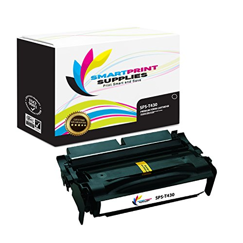 Smart Print Supplies 12A8425 Lexmark T430 Premium Black Compatible Toner Cartridge Replacement also for T430D T430DN Laser Printers (12,000 Pages) (Printer Laser T430)