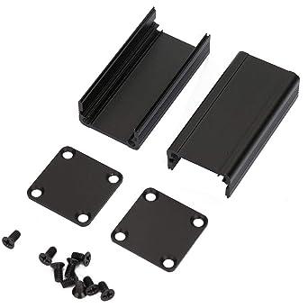 Caja de enfriamiento de aluminio Caja de instrumentos de PCB Caja ...
