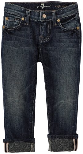 7 For All Mankind Little Girls' Roxanne W Cuff Sm 610S