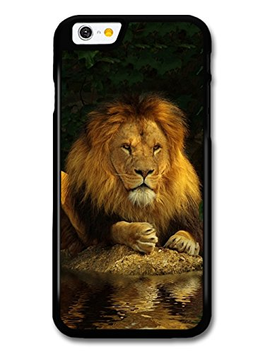 Lion Reflecting on Water coque pour iPhone 6 6S