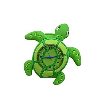 amazon cute cartoon slap watch tortoiseデザインwith折り曲げ可能