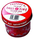 Balls O' Fire Premium Salmon Egg Bait, 1-Ounce