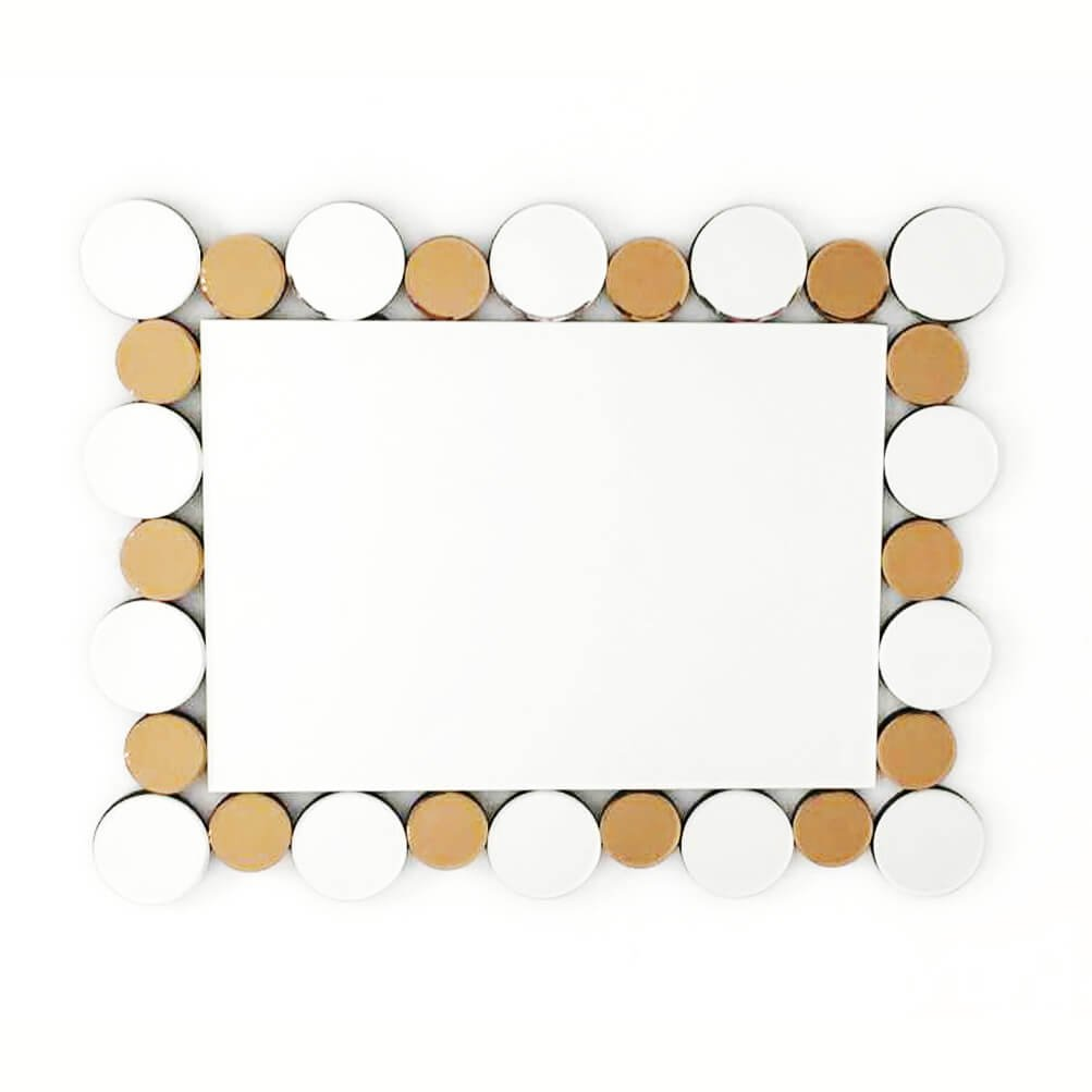 Fab Glass and Mirror FAB-WSTC004 Rectangle Decorative Sunburst, Bathroom Wall Mirrors, 35.5 X 27.5 by Fab Glass and Mirror