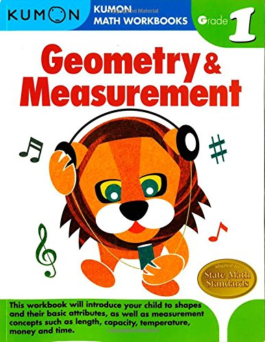 Geometry & Measurement Grade 1 (Kumon Math Workbooks)
