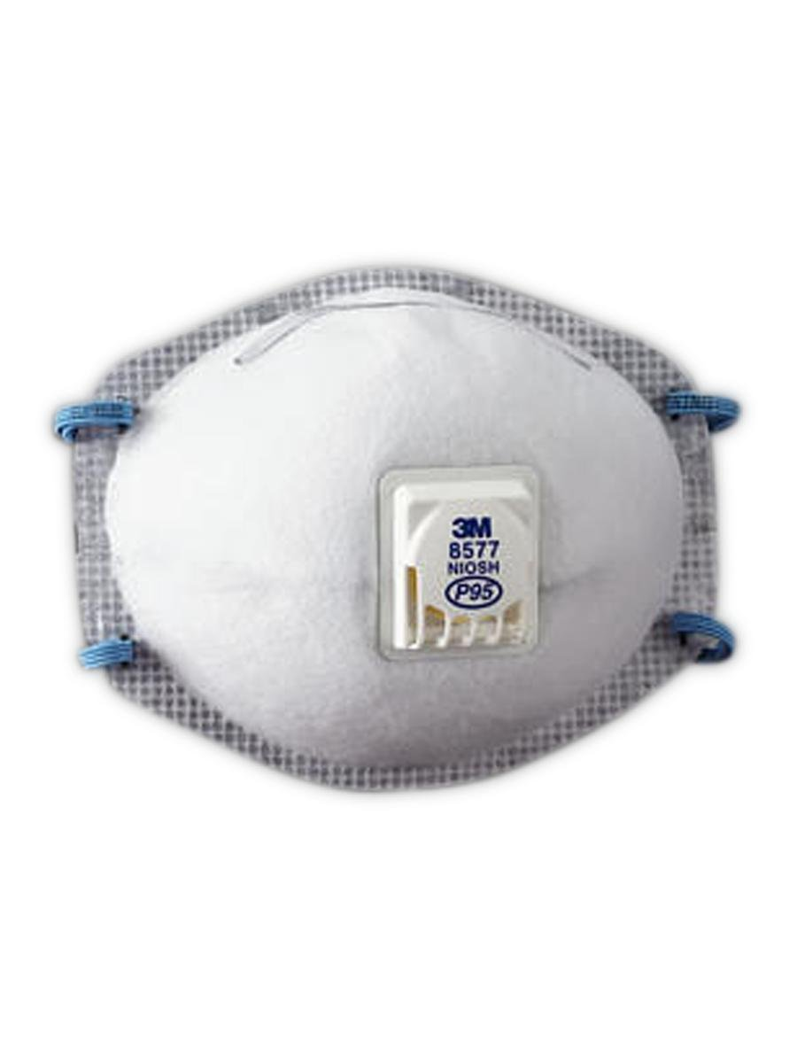 8577 50051138543711 Of 10 Respirator 3m Particulate pack P95
