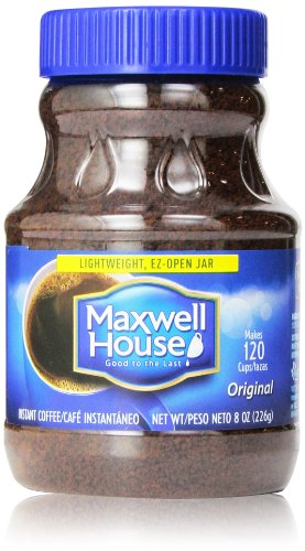 Maxwell House Original Instant Coffee, 8 Oz