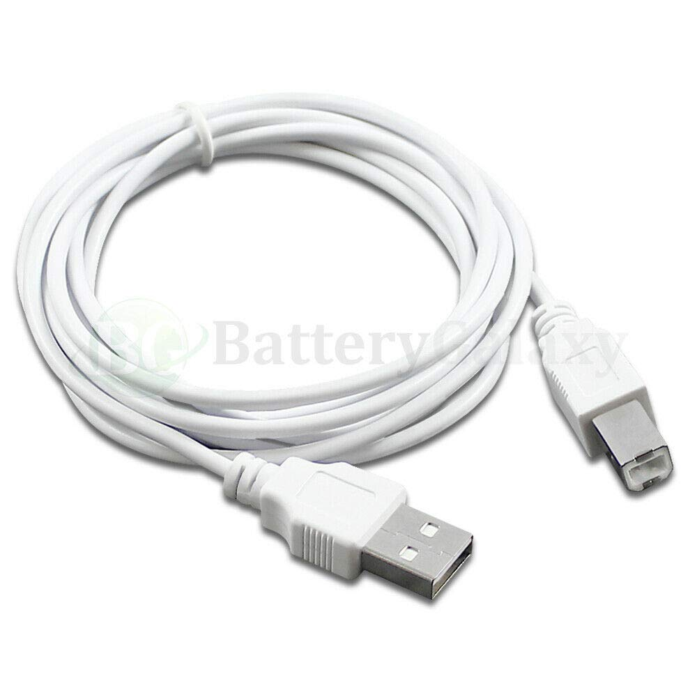 6 ft, 50 Lot 6 10 15 Compatible with HP Canon DELL Brother Printer Scanner Cable Cord USB 2.0 A-B