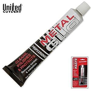 United Cutlery UC2723 Metal Glo Polishing Paste, 1.4 oz