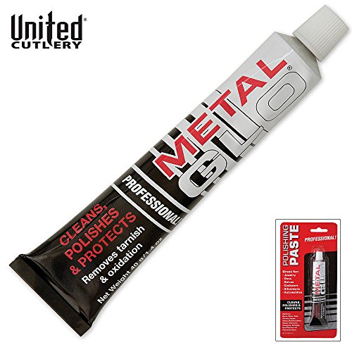 - United Cutlery UC2723 Metal Glo Polishing Paste, 1.4 oz