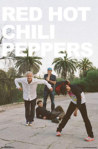 - Trends International Red Hot Chili Peppers - Band Wall Poster, Multi