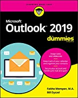 Outlook 2019 For Dummies Front Cover