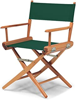 product image for Telescope Casual 60322C01 World Famous Dining Height Director Chair, Forest Green with Varnish Frame