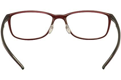 c621f2dd7b Adidas Eyeglasses Litefit A 693 10 6100 Berry Shiny Black Optical Frame  53mm  Amazon.co.uk  Clothing