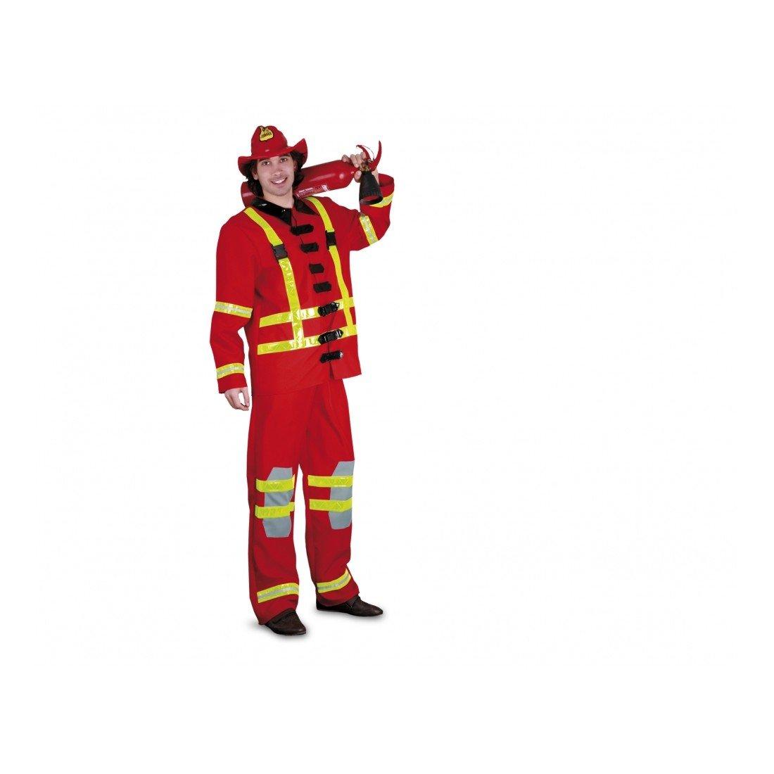 Disfraz de Bombero para hombre (talla U): Amazon.es: Juguetes y juegos
