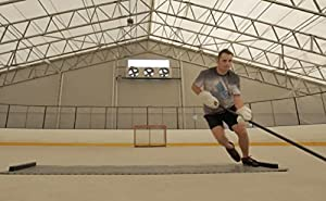 Hockey Revolution Adjustable Length Training Tiles - MY SLIDE BOARD