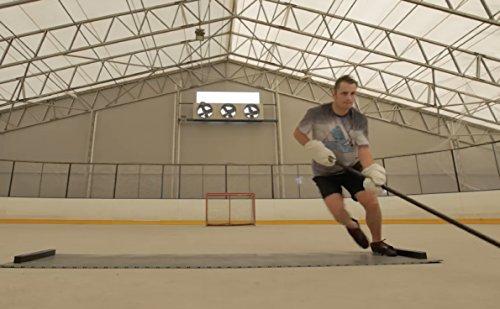 Hockey Revolution Adjustable Length Training Tiles - MY SLIDE BOARD