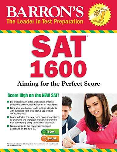Barron's SAT 1600 with Online Test