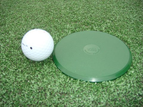 Customizable Golf Hole Cup Cover for All Regulation 4'' & 6'' Deep Putting Green Cups by TJB