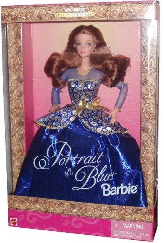 BARBIE PORTRAIT IN Blau DOLL