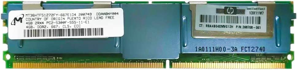 4GB 2Rx4 PC2-5300F-555-11 by HP