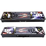 EG STARTS Arcade Video Game Console 815 in 1 Pandora's Box 4S+ Plus Slim Metal LED Box Consoles Support HDMI VGA and USB Output Support TV Set, Monitor, Projector, PC/Laptop & PS3