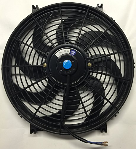 "Pro-comp 14"" Inch Electric Cooling Automotive Radiator Fan 12 Volt (Curved)"