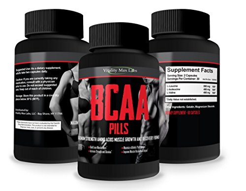 BCAA Pills Powerful Vitality Increase product image