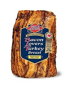 Dietz & Watson, Bacon Lovers Turkey Breast, 5 lb: Amazon ...