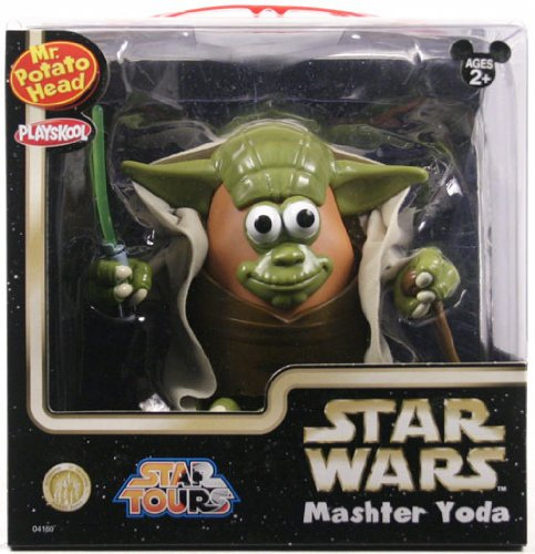 Star Wars Yoda Mr. Potato Head Disney Figure (Potato Mr Disney)