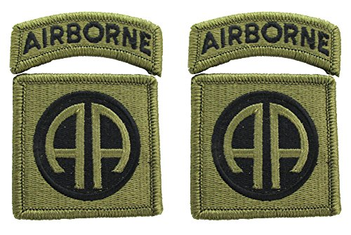 Unit Patch - 82nd Airborne Division OCP Patch with Airborne Tab - 2 PACK