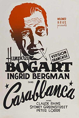 Casablanca French Poster