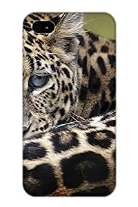 New Premium VenusLove Animal Leopard Skin Case Cover Design Ellent Fitted For Iphone 4/4s For Lovers