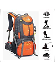 Hiking Backpack Waterproof for Men Backpacking Bag Travel Outdoor Sport Daypack for Climbing Cycling Mountaineering...