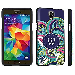 M.Y.S.YSamsung Galaxy Mega 2 Hard Case Black - (Mint Flower Monogram W)