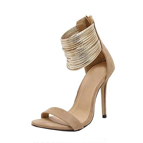 Été À Escarpin Sexy Chaussures Femme Pointues Femmes Solike E8ABqxE