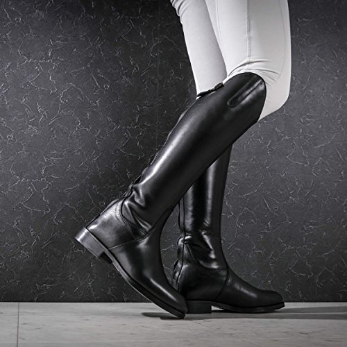 Norfolk Black Laced Field Riding Shires With Boots Long Regular Leather Tfwxx0qd