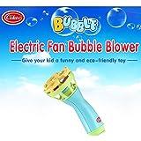 Morwind Bubble Machine Bubble-Making Toys, Summer Funny Magic Bubble Blower Machine Bubble Maker Mini Fan Kids Outdoor Toys (B)