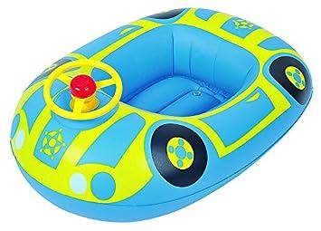 Jilong 36005 - Flotador para bebés, coche con volante: Amazon.es: Juguetes y juegos
