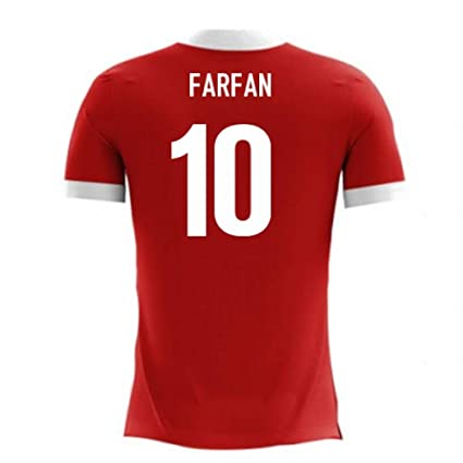 38fb7d475 Image Unavailable. Image not available for. Color: 2018-19 Peru Airo Concept  Away Football Soccer T-Shirt Jersey ...