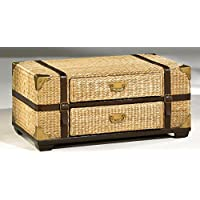 Hammary Bora cay 2-Drawer Trunk Cocktail Table