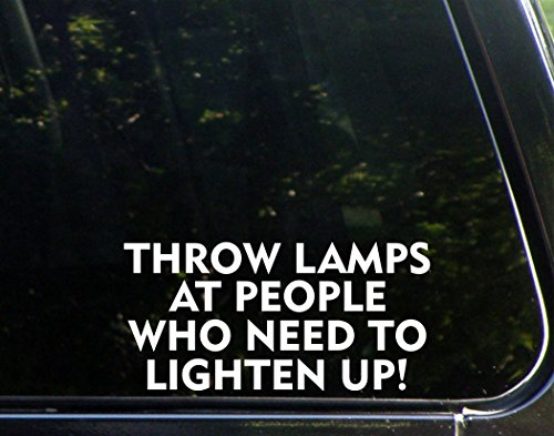 Throw Fraternity (Throw Lamps At People Who Need To Lighten Up! - 7 3/4