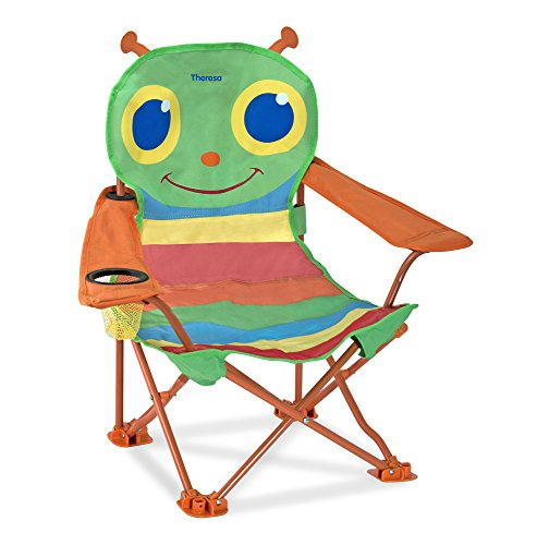 Melissa & Doug Personalized Sunny Patch Happy Giddy Outdoor Folding Lawn and Camping Chair (Dropship Personalized Gifts)