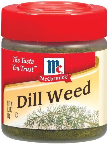 McCormick DILL WEED .3oz (4 Pack)